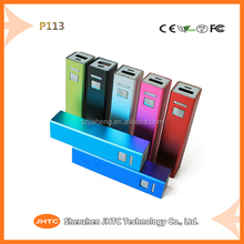 new arrvial 2200mah lipsticks portable charger universal promotional power bank for samsung galaxy tab