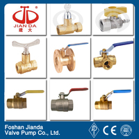 bronze/brass medical gas ball valve cxc