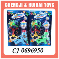 Hot selling popular plastic flashing super top toys gun for children