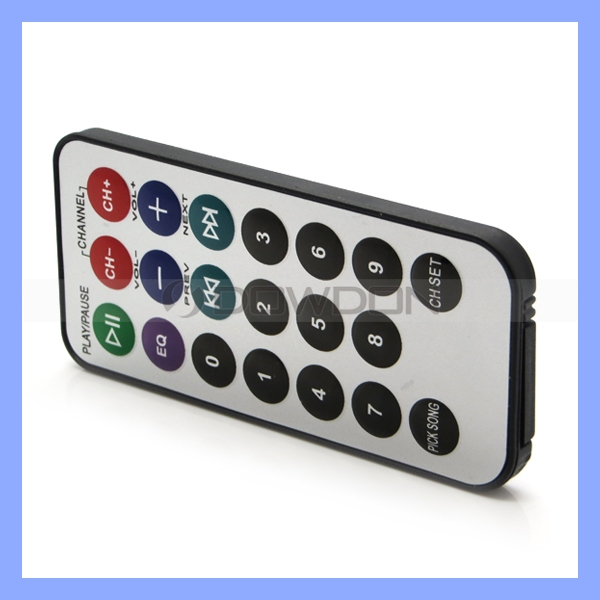 OEM IR Remote LED Controller Universal 20 Keys Bubble Button MP3 Remote Control
