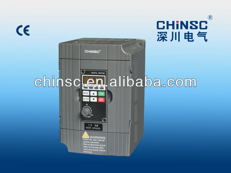 220v ac variable converter 1 phase to 3 phase frequency inverter