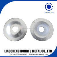 Steel Cup washer for construction furniture
