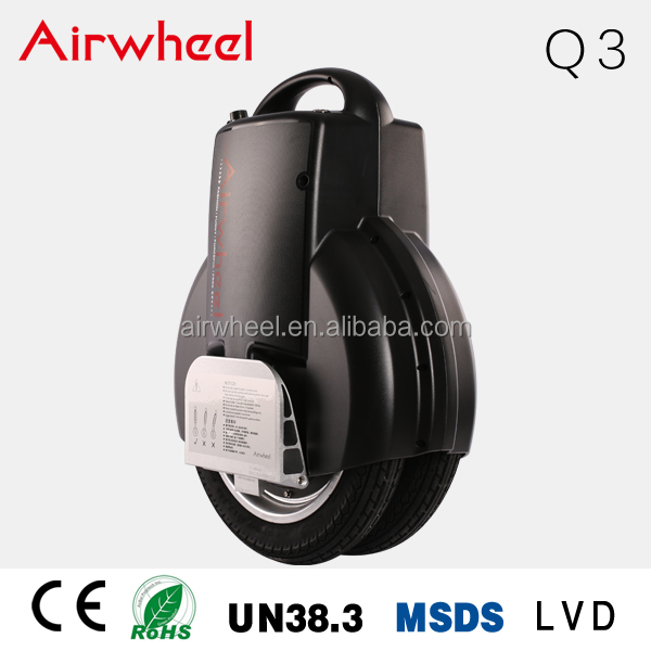 airwheel Q3 Unicycle Electric CE Certificate Electric Unicycle,Unicycle Training Wheels