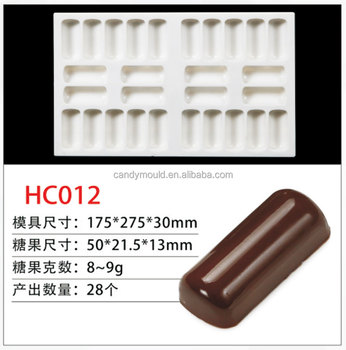 hot sell customized Chocolate Candy Mold Polycarbonate PC DIY Mould Cookie Tray