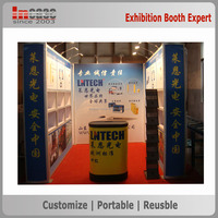New design easy set up environmental protection exhibition booth material