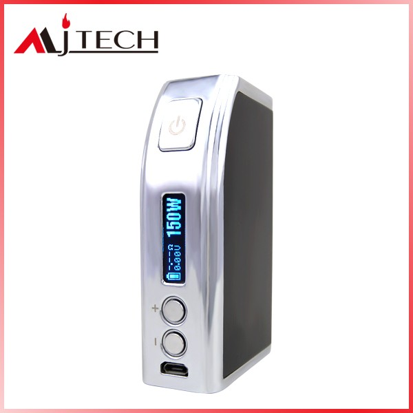 2016 new products MJTECH OLA X TC 150W BOX MOD temp control box mod 150w mechanical mod CE ROHS Vape mod 150w mod