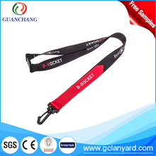 Newest design wholesale neck strap safety buckle lanyards for id badge holder