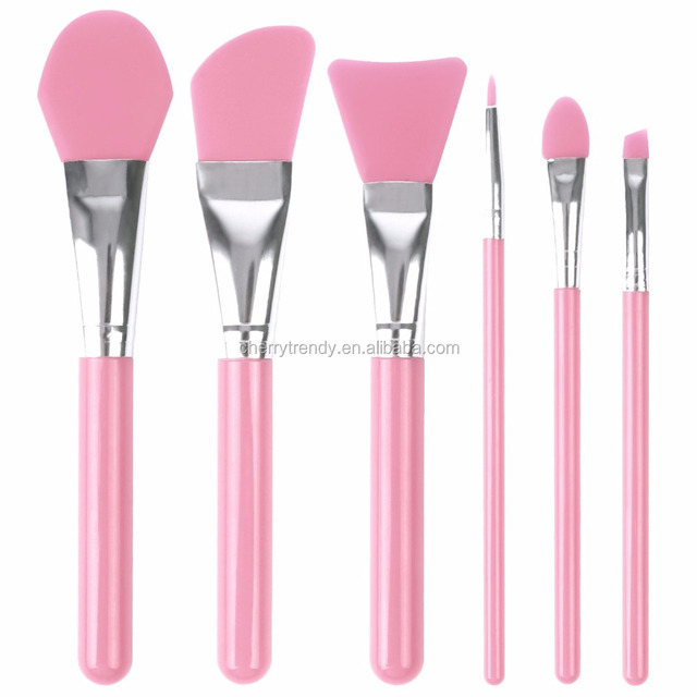 Face Essential 6 Piece Brushes Set with Cosmetic Bag
