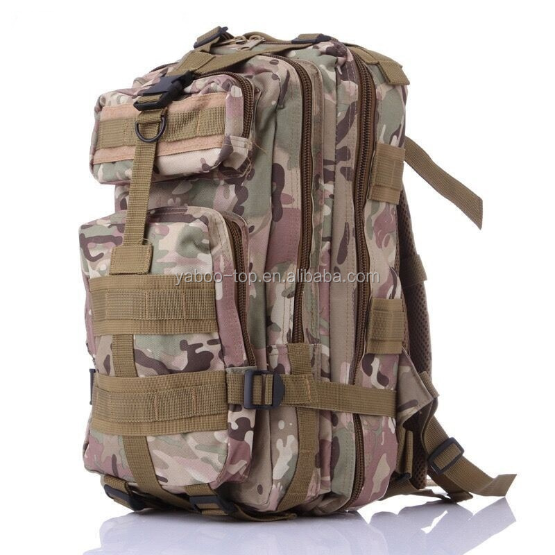 New Outdoor Backpack Military Tactical Camouflage Camping Travel Hiking Backpacks Waterproof Bag