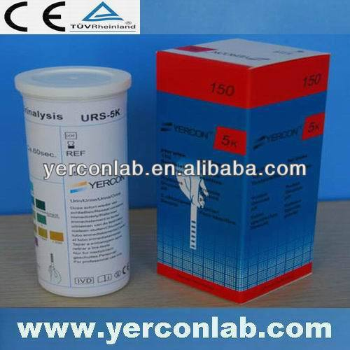 medical diagnostic urine test strip