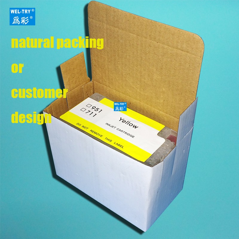 fit for Designjet T120/T520 rechargeable cartridge 950/951 refillable ink cartridges