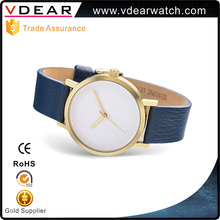 Hot Style Alloy Own Brand Watch Japan Movt Quartz Watch Stainless Steel Back