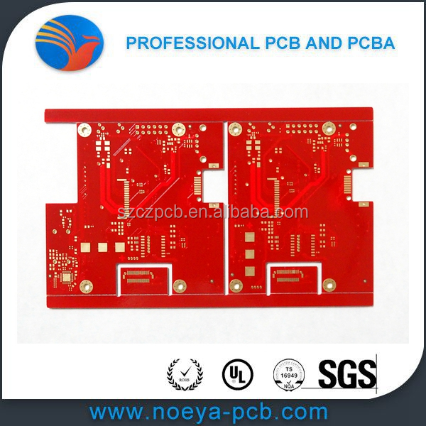 HASL smart electric watch pcb, smart tablet PC pcb fabrication