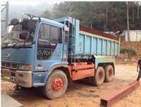 40-50 tons japan hino used dump trucks