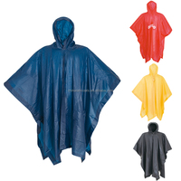 hot sales custom logo printed pvc reusable adult rain ponchos cheap raincoats