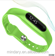 Newest product E06 smartband sports tracker smart bracelet, smart wristband for IOS&Android band
