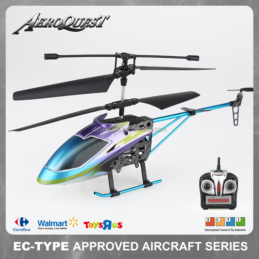 RC DIE-CAST 3.5CH 2.4G R/C Helicopter with GYRO