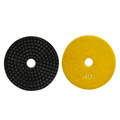 Black stone Granite polishing diamond flexible pads