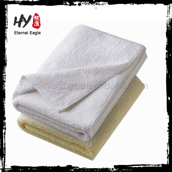 Cheap Promotional commercial bed linen, biodegradeabe towel, professional choice hotel towel