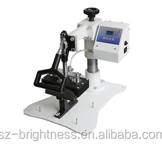 Manual cap heat press machine