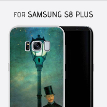 Case For Samsung galaxy s8 plus transparent tpu Case Case Pudding TPU Soft Silicone Gel Clear Crystal For Samsung Skin Cover