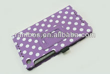 Lovely Dots Point Tablet Wallet Flip case for Google Nexus 7 II 2nd