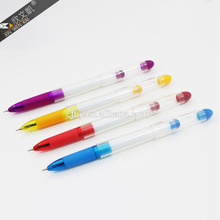 Colorful advertizing gel pen with customer logo for promotion