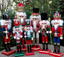 2017 wooden soldier nutcracker for christmas decoration