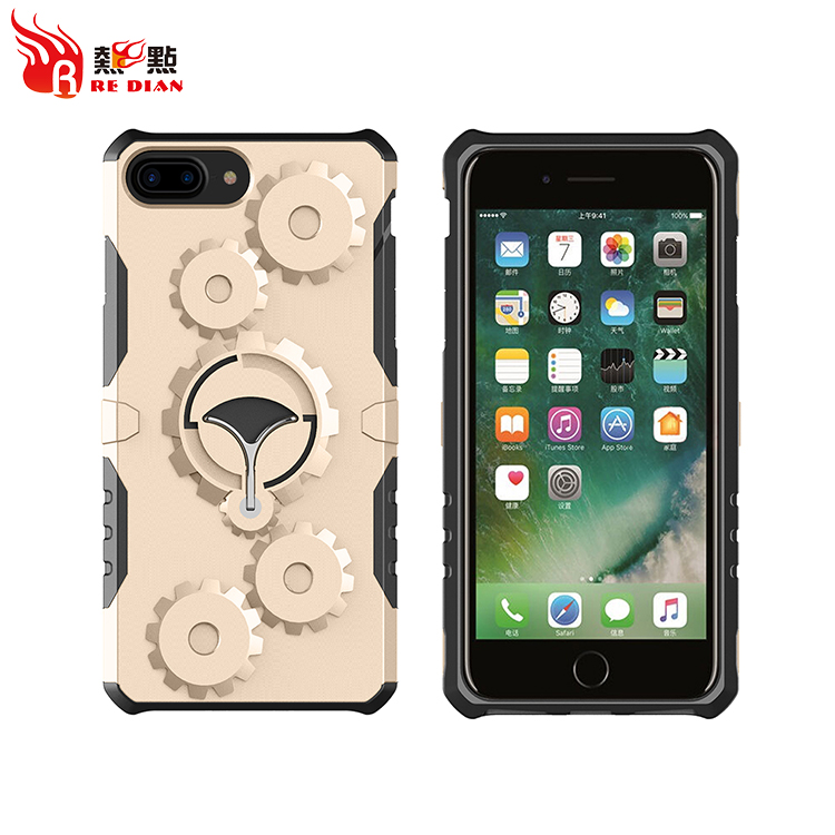 High quality mobile phone shell,sublimation 2d tpu pc phone case,pc +tpu protective phone case for apple for iphone7 plus