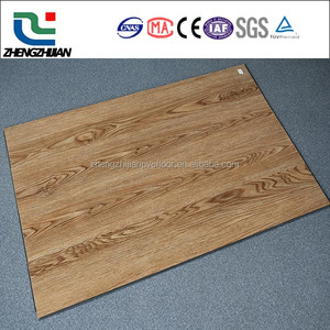 Modern wood design Lowest price Fire proof pvc vinyl floor covering in cheap