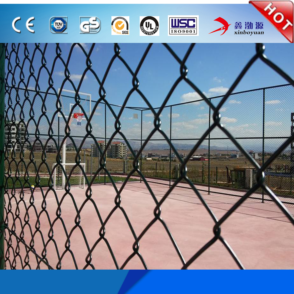 China Gold Supplier Hot Sale Special Design Best Factory Price Galvanized PVC coated Wire Mesh Garden Chain Link Fence