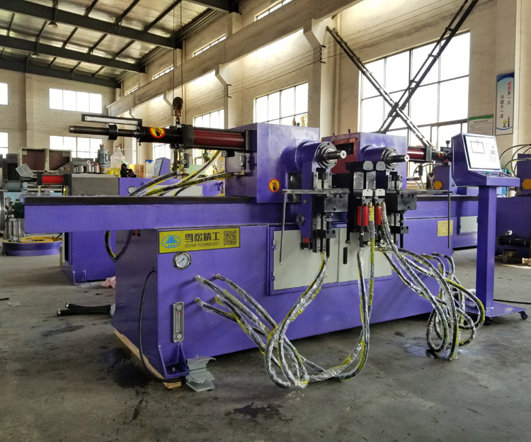 Excellent quality SW-38 double head pipe and tube bender tube bending machine