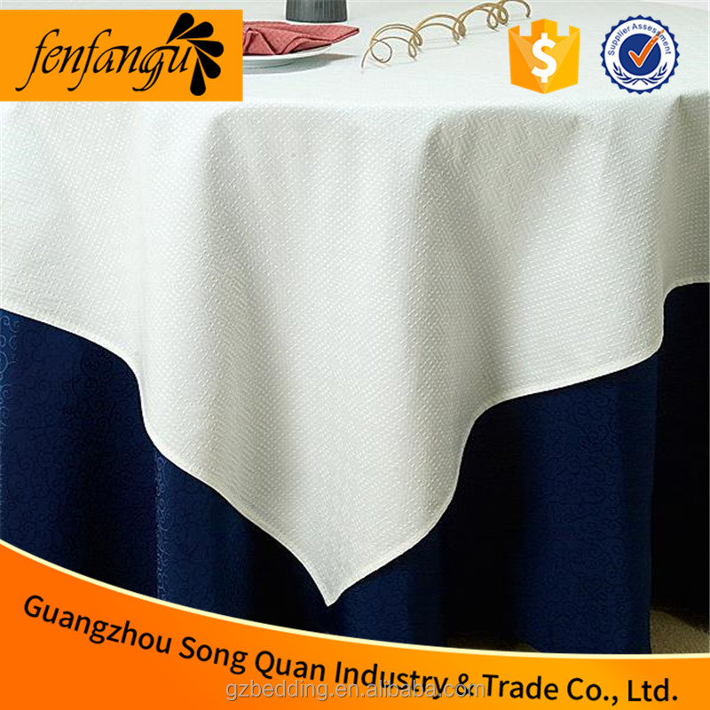 Hotel and restaurant textile Jacquard Table cloth