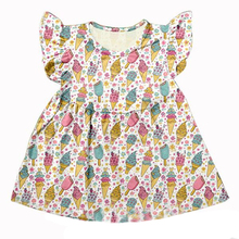 Baby girls new ruffles frocks spring fashion Dress For Girls Fluffy dress