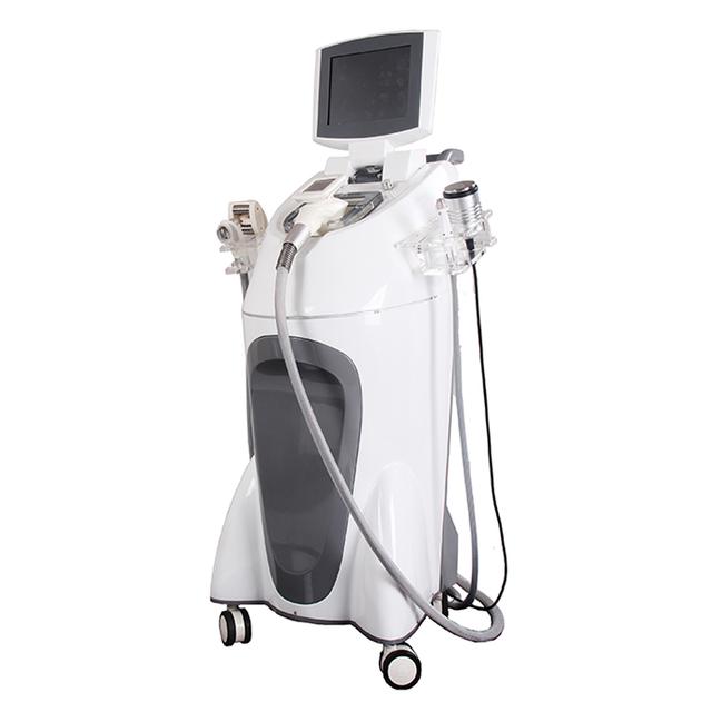Beauty equipment fat reduction RF weight loss vacuum velashape slimming machine price