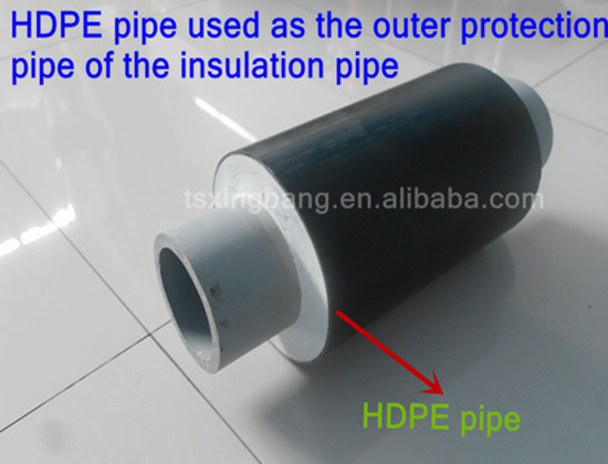 High pressure black plastic water pipe with hdpe material for Water pipe material