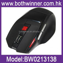 Blank sublimation cordless mouse ,H0T072 wireless air mouse , 7 Button car mouse/wireless car mouse