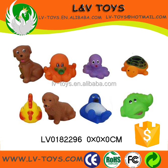 Wholesale vinyl toys marine model bath toy