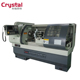 CJK6180B China Big Automatic CNC Lathe Machine with manual tailstock and servo motor
