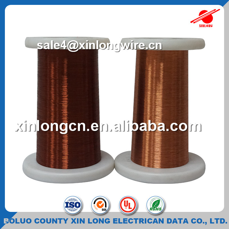 Dual Coating 180C Winding Enameled Aluminum Electrical Wire Insulated Aluminum Wire