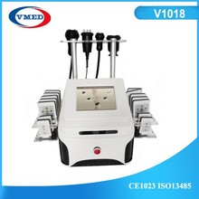 2015 Cavitation Slim Machine Body RF Big Vacuum Diode Laser For Fat Removal