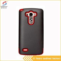 Wholesales creative 2 in 1 armor funky mobile phone case for lg g3
