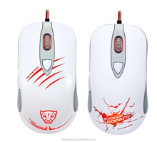 Latest wired laser gaming avago chipset 6d laser track ergonomic mouse with hign DPI for large hands--V16-1