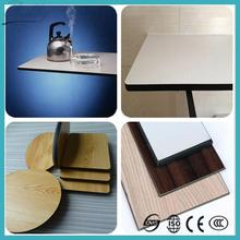 New design laminated fast food restaurant top dining table for asia market