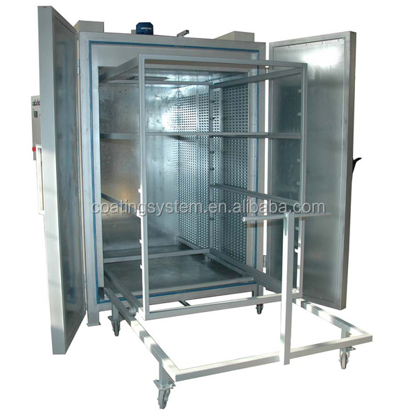 electric powder coating oven with racks buy powder coating oven