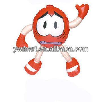 Small inflatable toys for kids, inflatable Strawberry Girl