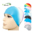 Adult Funny Latex Swimming Cap For Long Hair Silicone Swim Cap