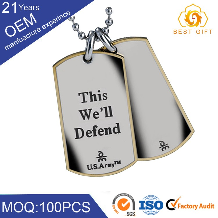 Custom wholesale different address names telephone sports pet id dog tag with printed logo