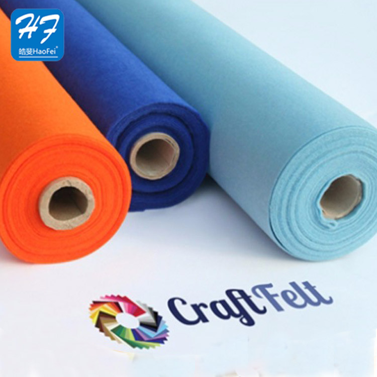 Manufacture Good Quality Fabric Polyest Felt