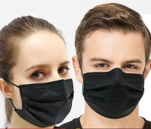 Wholesale disposable charcoal face mask Anti fog and haze Smoke prevention